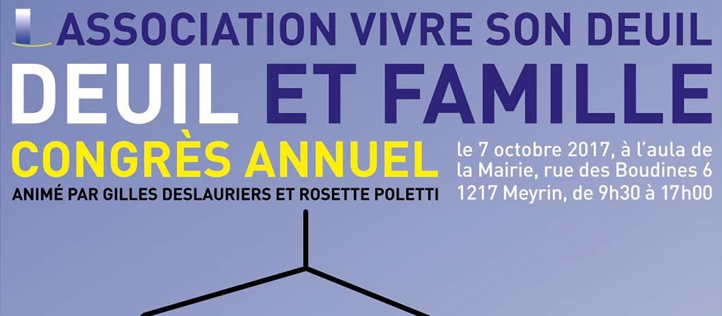 Congrès « Deuil et Famille »