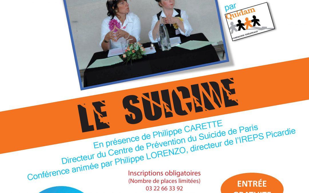Amiens: Conférence décalée sur le suicide